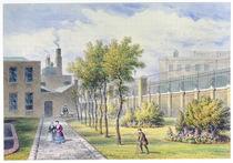 Garden of St. Thomas's Hospital von Thomas Hosmer Shepherd