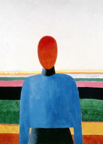 Bust of Woman by Kazimir Severinovich Malevich