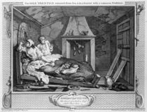 The Idle 'Prentice Returned from Sea by William Hogarth