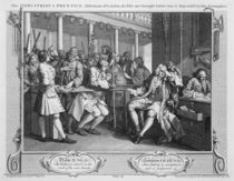 The Industrious 'Prentice Alderman of London by William Hogarth