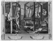 The Fellow 'Prentices at their Looms by William Hogarth
