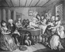 A Harlot's Progress, plate VI by William Hogarth