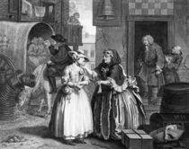 A Harlot's Progress, plate I von William Hogarth