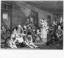 Scene in Bedlam, plate VIII von William Hogarth