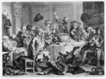 A Midnight Modern Conversation von William Hogarth