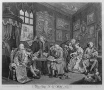 Marriage a la Mode, Plate I by William Hogarth