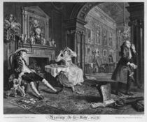 Marriage a la Mode, Plate II by William Hogarth