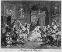 Marriage a la Mode, Plate IV von William Hogarth