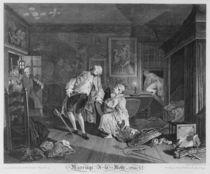 Marriage a la Mode, Plate V von William Hogarth