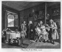 Marriage a la Mode, Plate VI by William Hogarth