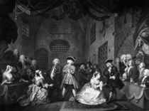 The Beggar's Opera, Scene III by William Hogarth