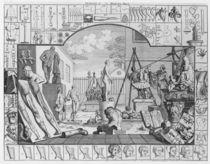 Analysis of Beauty, Plate 1 von William Hogarth