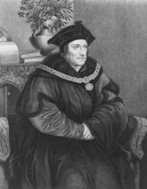 Sir Thomas More von Hans Holbein the Younger