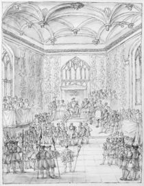 Henry VIII receiving Montmorency by William Kent