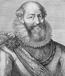 Maximilien de Bethune, duc de Sully by French School