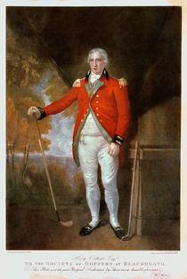 Portrait of Henry Callender von Lemuel Francis Abbott