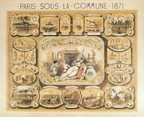 Scenes from the Paris Commune by French School