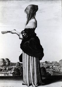 Summer, 1644 by Wenceslaus Hollar