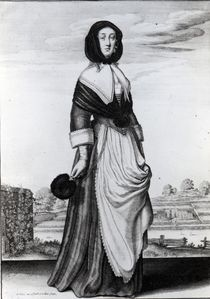 Autumn, 1643 by Wenceslaus Hollar
