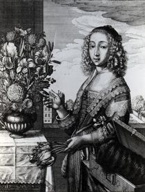 Spring, 1641 by Wenceslaus Hollar