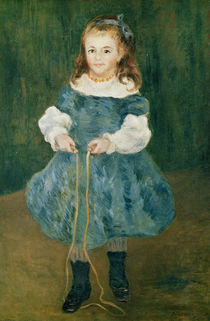 Girl with a skipping rope, 1876 by Pierre-Auguste Renoir