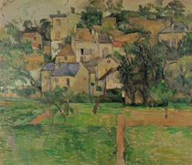 The Hermitage at Pontoise, 1884 by Paul Cezanne