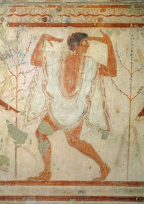Dancer from the Tomb of the Triclinium by Etruscan