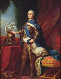 Portrait of Louis XV in armour by Carle van Loo