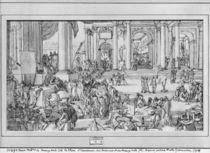 The Academy of Sciences and Fine Arts von Sebastien I Le Clerc