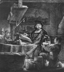 Jan Uytenbogaert 'The Goldweigher' by Rembrandt Harmenszoon van Rijn
