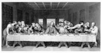 The Last Supper, engraved by Frederick Bacon