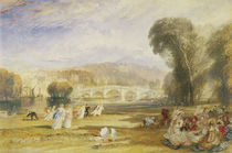 Richmond Hill and Bridge, Surrey by Joseph Mallord William Turner
