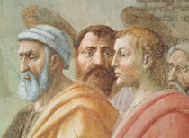 St. Peter Distributing the Common Goods of the Church by Tommaso Masaccio