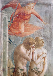 Detail of Adam and Eve Banished from Paradise von Tommaso Masaccio