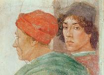 Detail of the Dispute with Simon Mago von Filippino Lippi