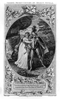 Illustration from 'The Castle of Otranto' by English School