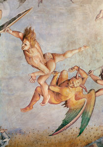 Detail of the Last Judgement by Luca Signorelli
