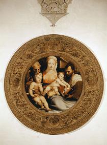 The Holy Family and St. John the Baptist by Domenico Beccafumi