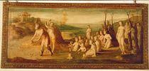 Deucalion and Pyrrha by Domenico Beccafumi