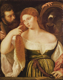 Woman Combing her Hair by Titian