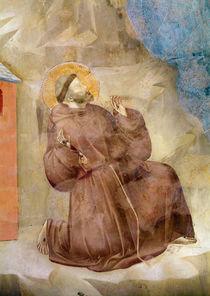 Saint Francis receiving the Stigmata von Giotto di Bondone