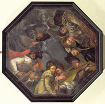 The Boiardo family with musical instruments by Nicolo dell' Abate