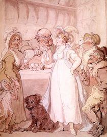 A Gin Shop, c.1808-09 von Thomas Rowlandson