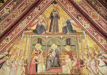 Allegory of Obedience, c.1330 von Giotto di Bondone