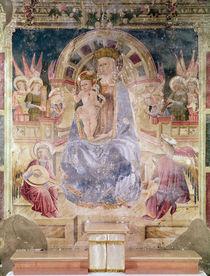 Virgin in glory between angels and saints by Matteo da Gualdo