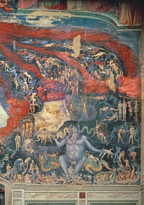 The Last Judgement, detail of Hell by Giotto di Bondone