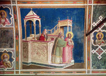 The Expulsion of Joachim from the Temple by Giotto di Bondone