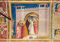 The Meeting of Joachim and Anne at the Golden Gate by Giotto di Bondone