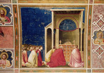 The Virgin's Suitors Praying before the Rods in the Temple by Giotto di Bondone