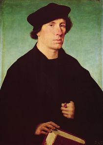 Portrait of a man von Joos van Cleve